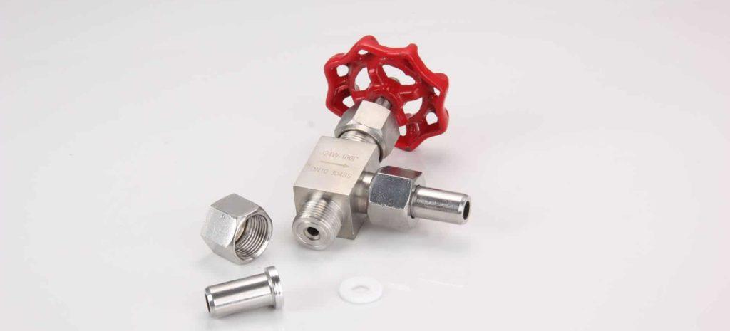 needle valve front