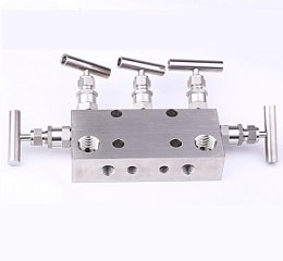 five valve manifold