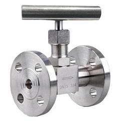 flange end needle valve