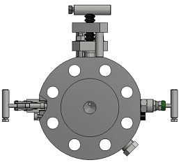 three valve manifold